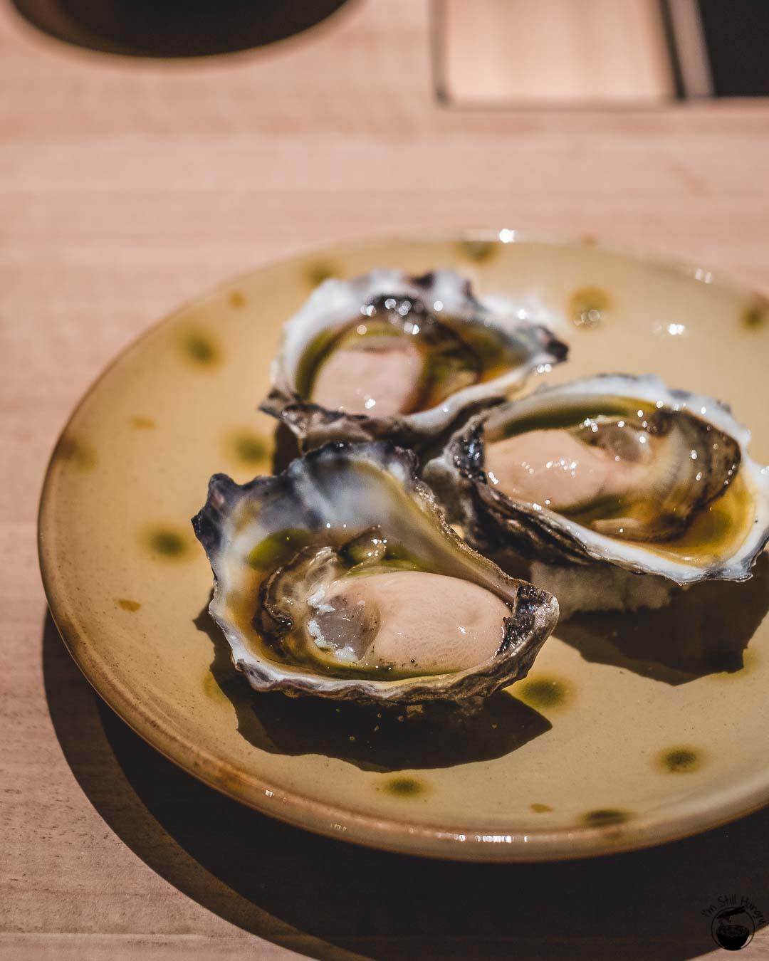 Restaurant Sasaki Surry Hills Second Visit-2 Oyster & yuzu