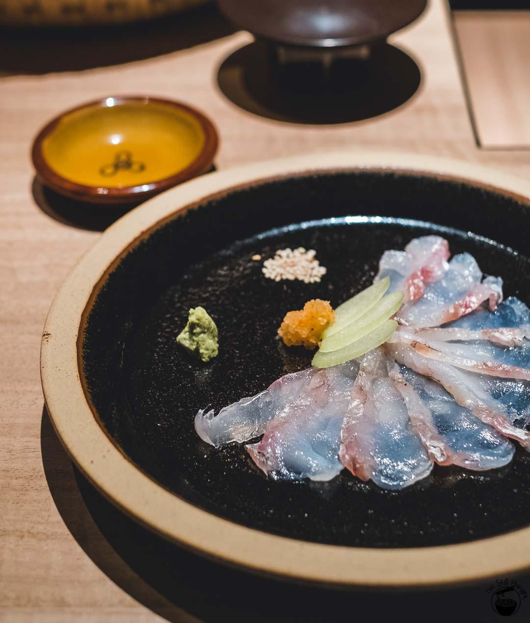 Restaurant Sasaki Surry Hills Second Visit-3 Gurnard, sakura & kombu