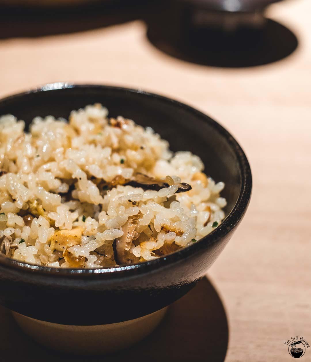 Restaurant Sasaki Surry Hills Second Visit-9 Rice, chicken & mushroom