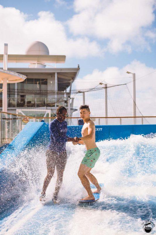 Royal Caribbean Allure of the Seas Flow Rider