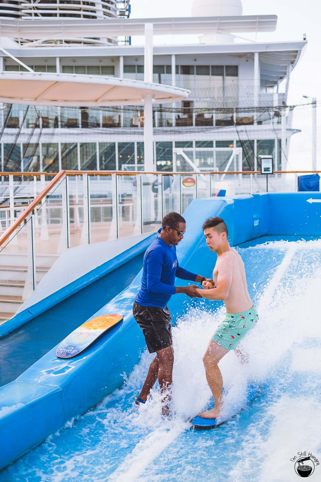 Royal Caribbean Allure of the Seas Flow Rider