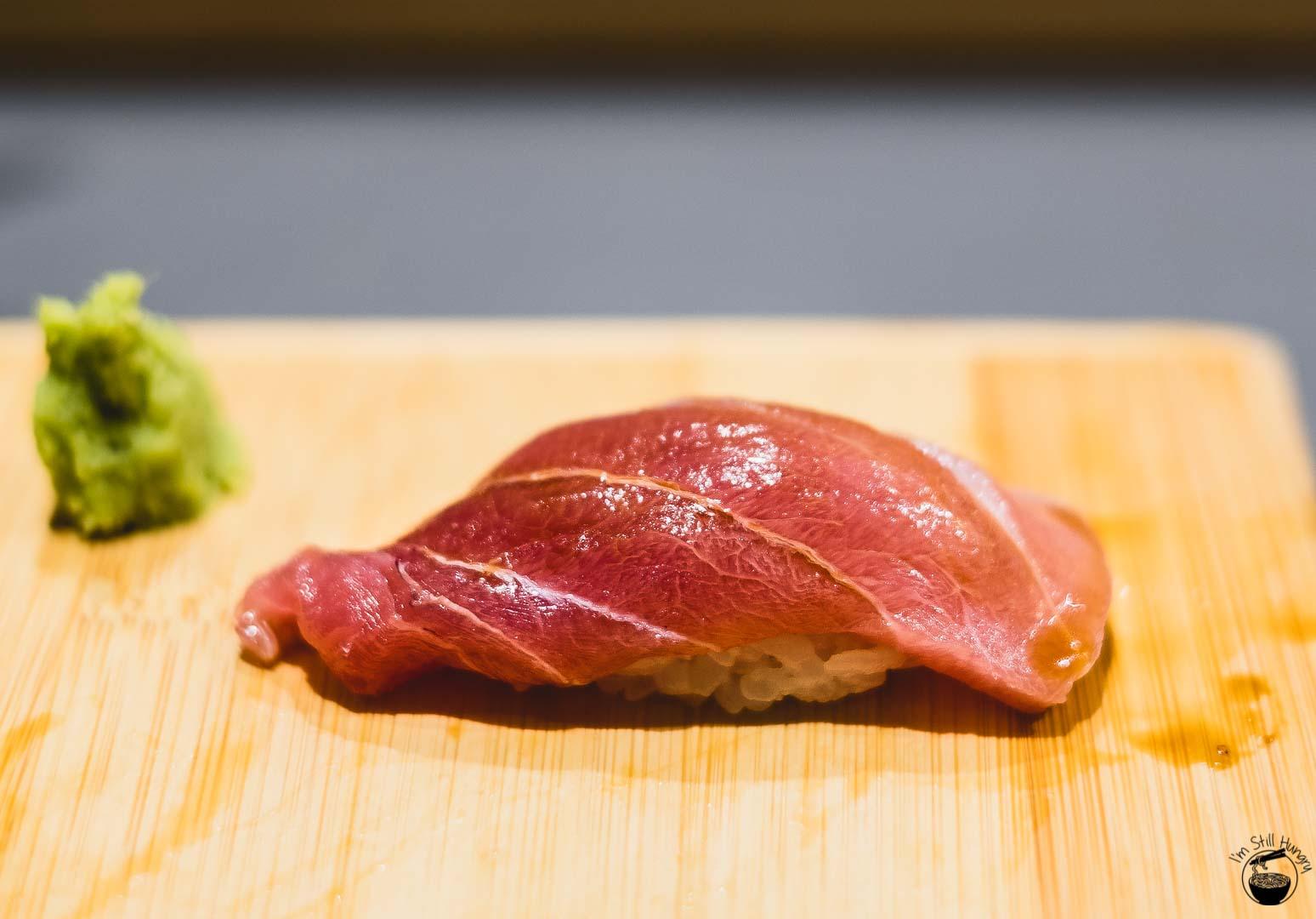 Sashimi Shinsengumi Chu-toro (medium fatty tuna)