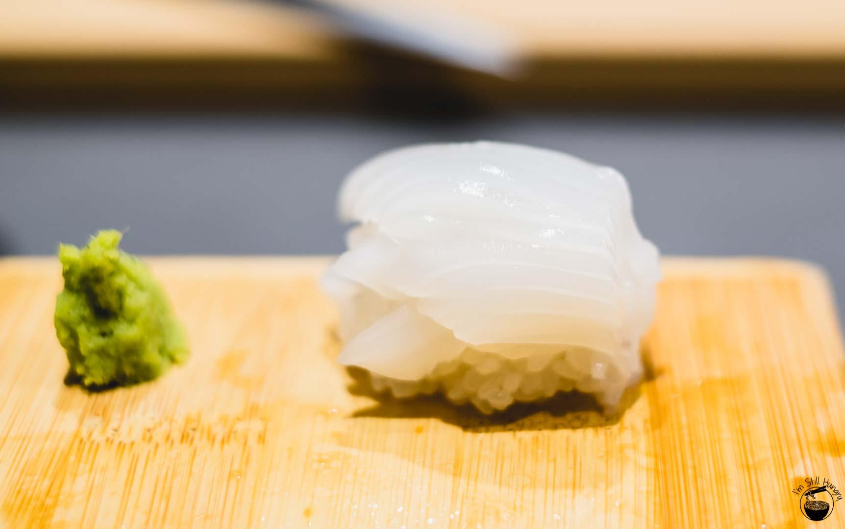 Sashimi Shinsengumi Ika (calamari)