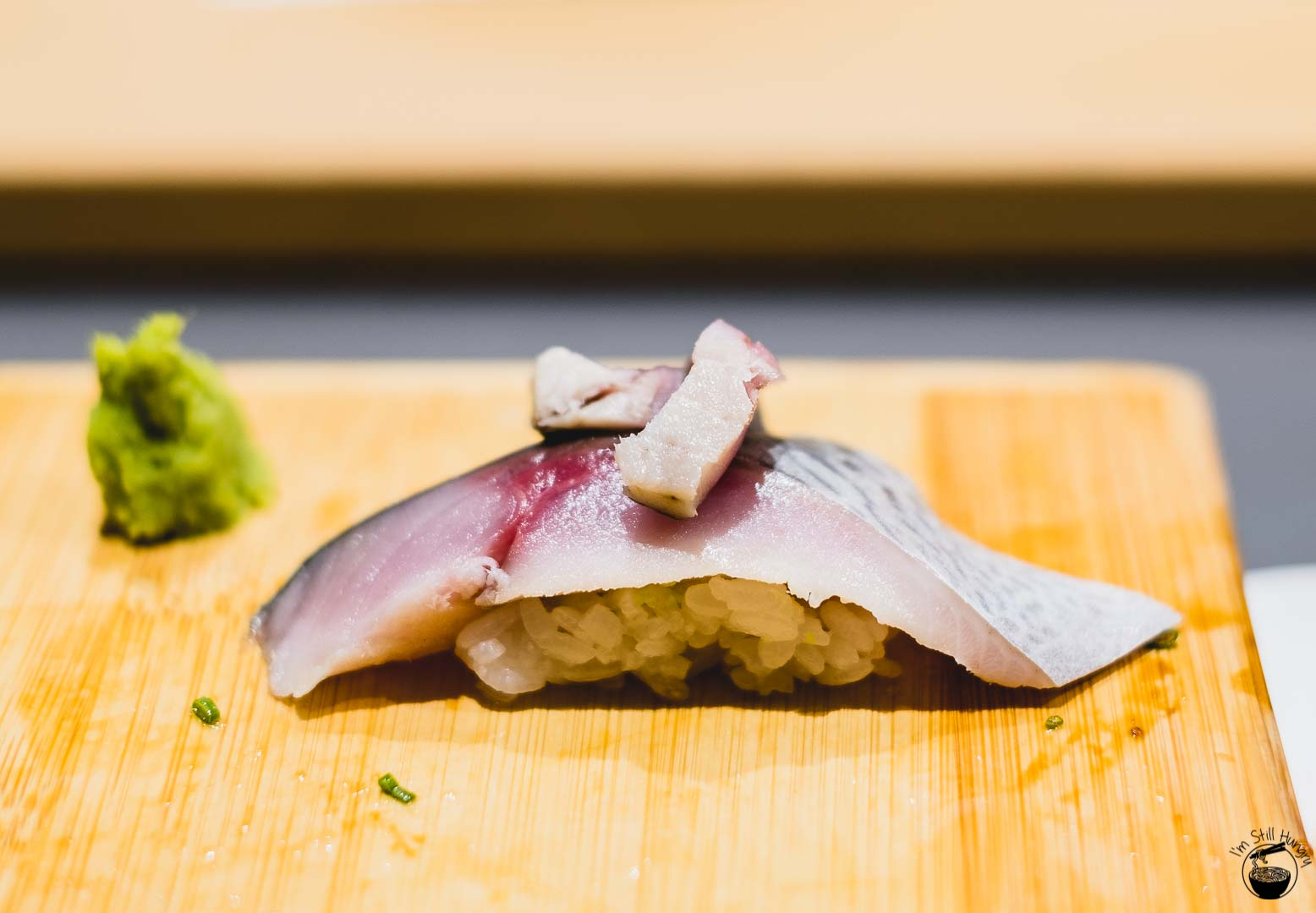 Sashimi Shinsengumi Saba (Spanish mackerel)