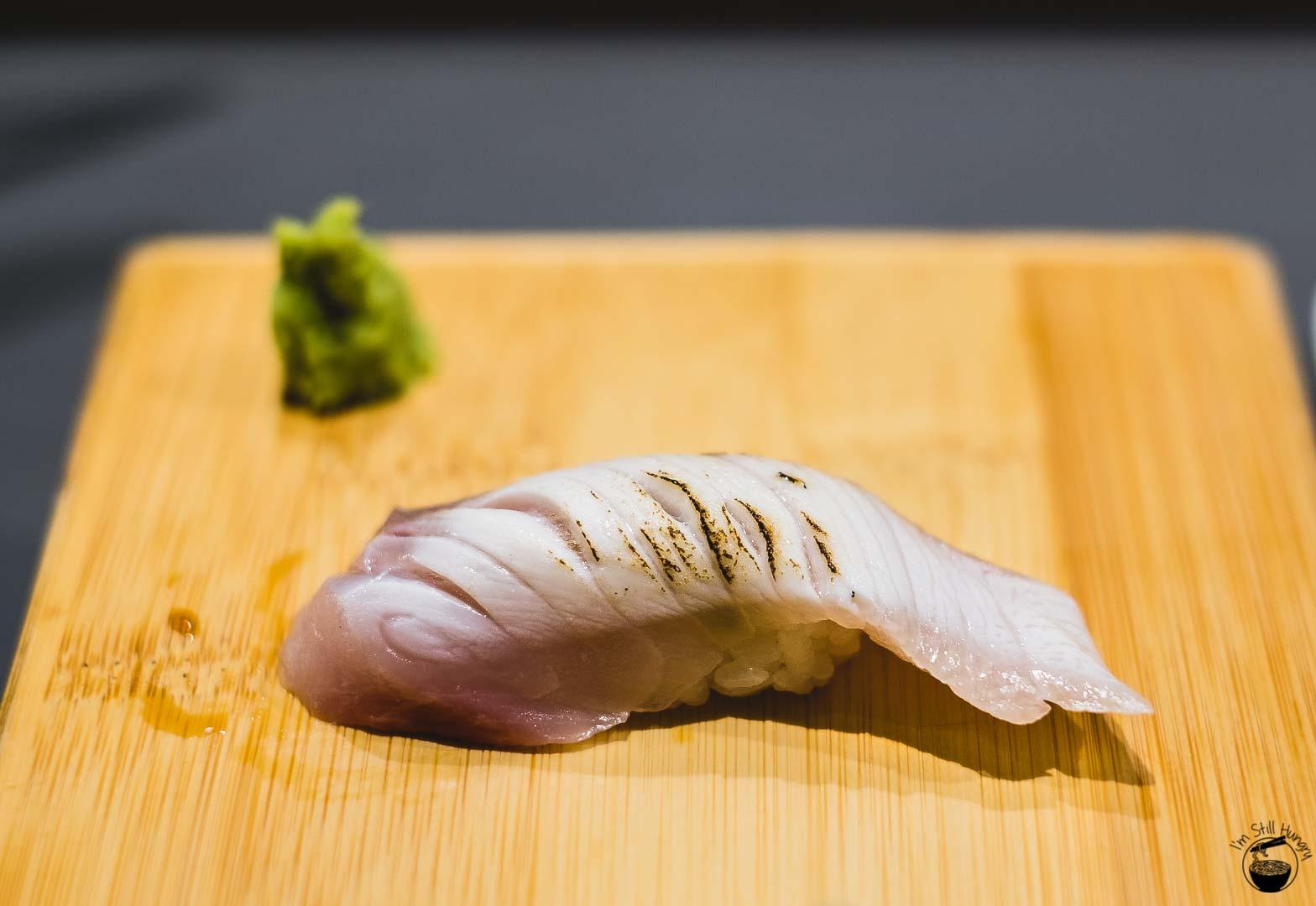 Sashimi Shinsengumi Torchedhiramasa (kingfish)