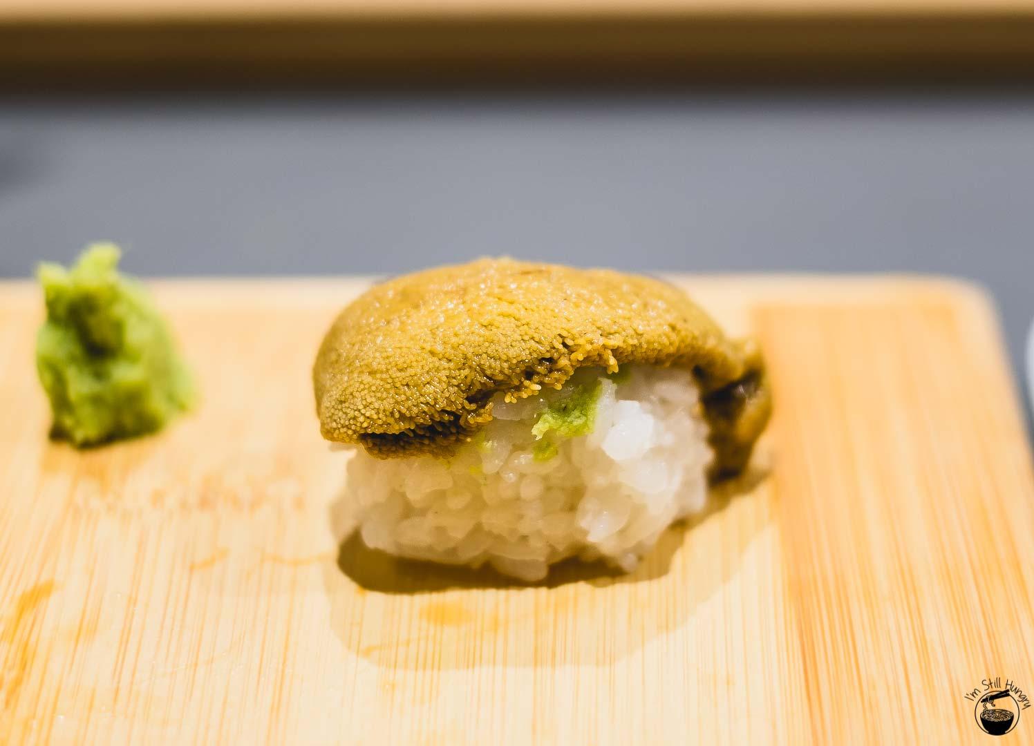 Sashimi Shinsengumi Uni (sea urchin)