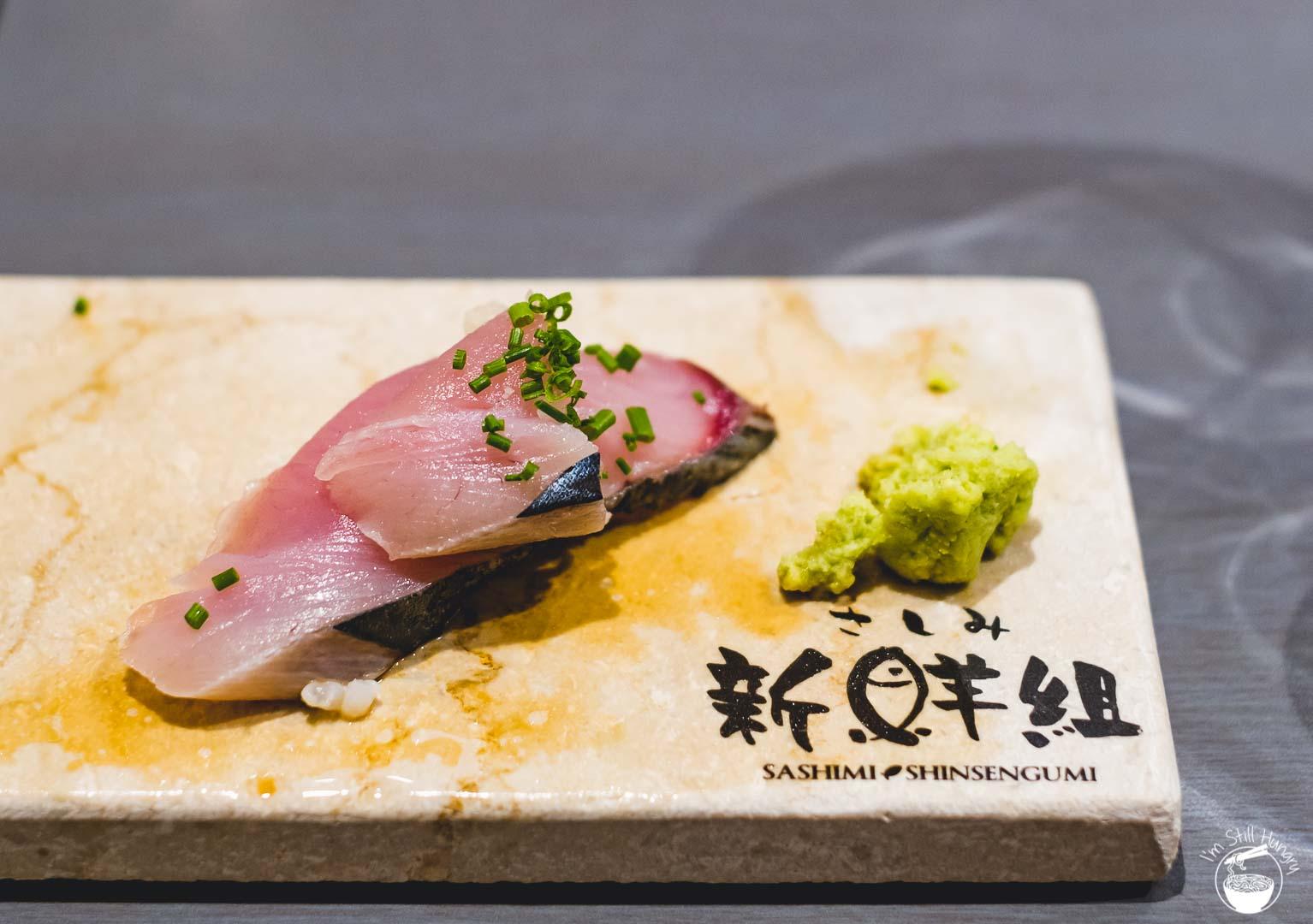 Sashimi Shinsengumi Crows Nest Sushi Omakase Bonito