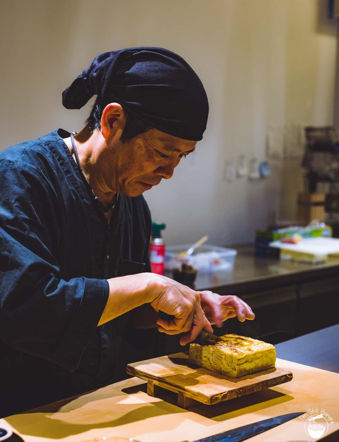 Sashimi Shinsengumi Crows Nest Sushi Omakase tamagoyaki