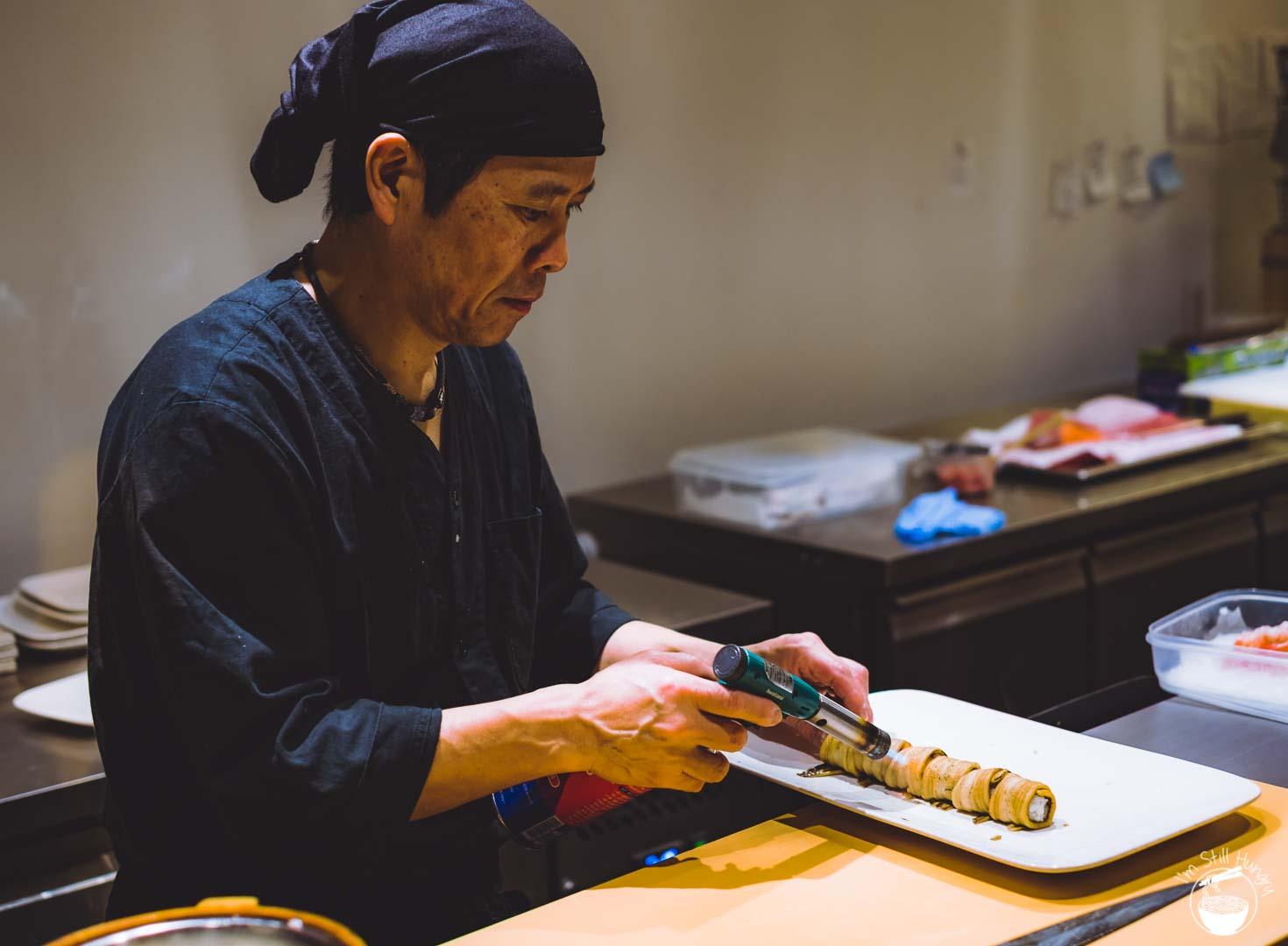 Sashimi Shinsengumi Crows Nest Sushi Omakase