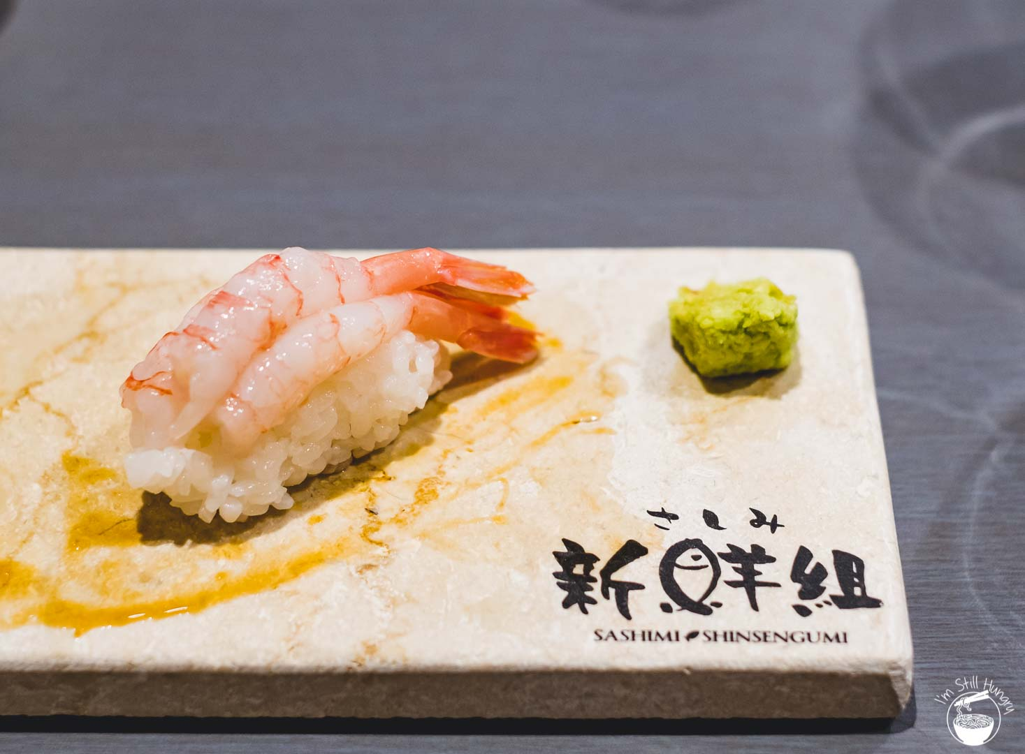 Sashimi Shinsengumi Crows Nest Sushi Omakase Sweet shrimp