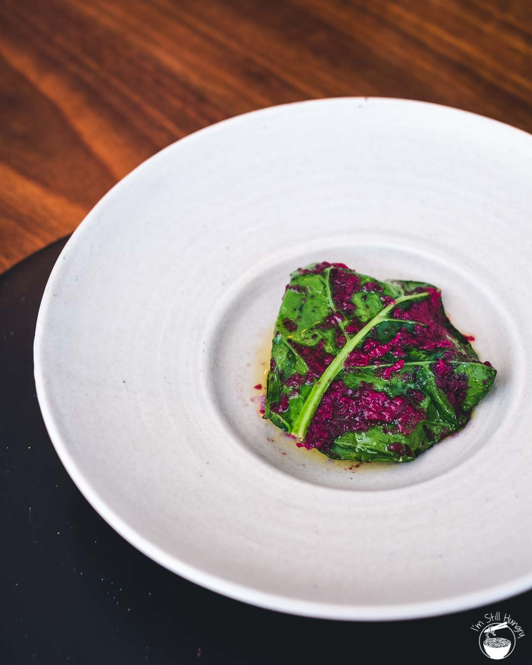 Sixpenny Stanmore Wild hapuka with Chinese Broccoli & Salted Red Cabbage