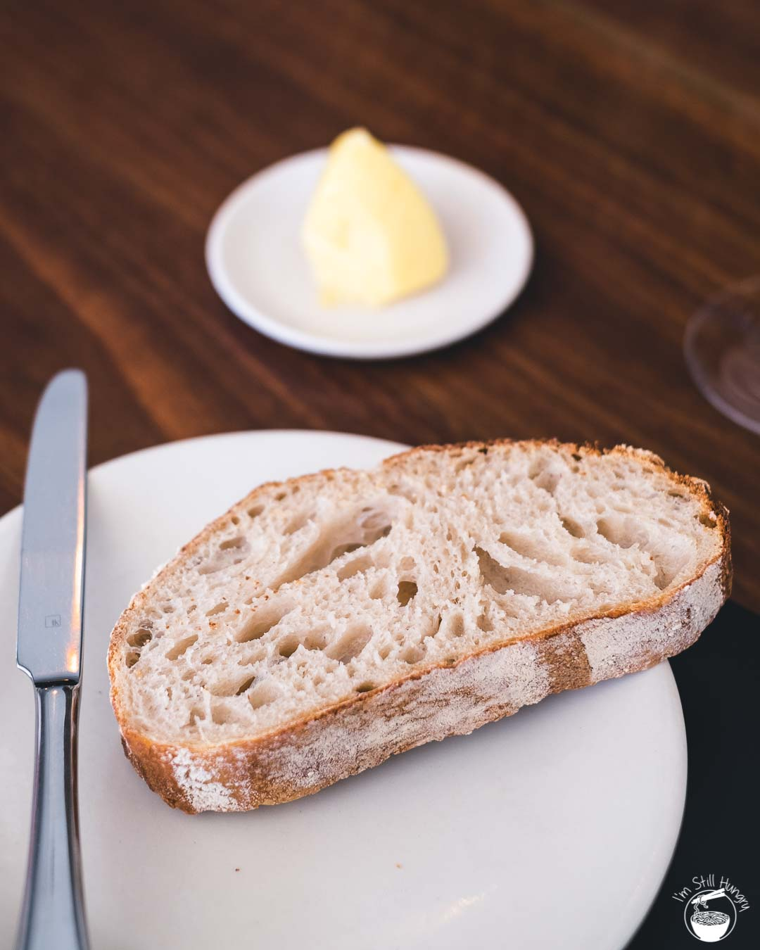 Sixpenny Stanmore House-baked sourdough w/mascarpone butter