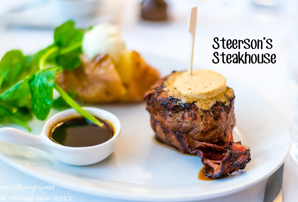 Steerson's Steakhouse Cover