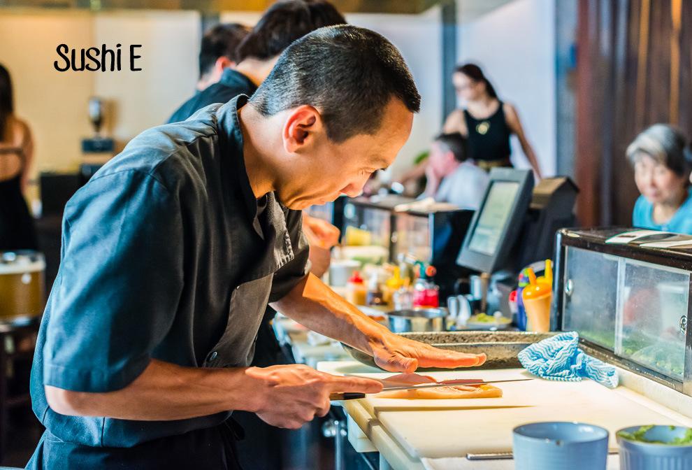 Sushi E Cover