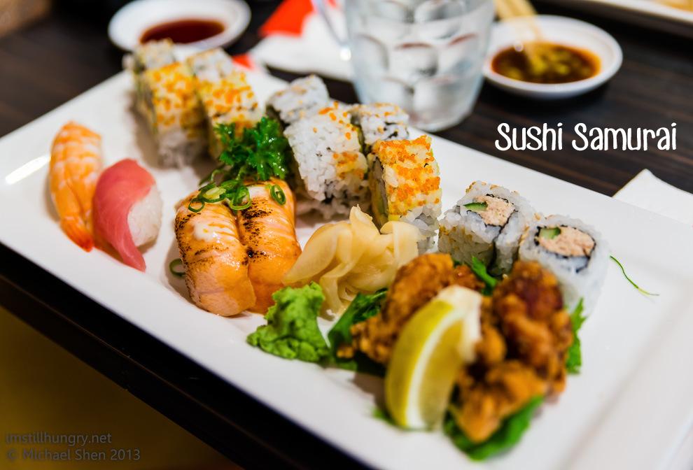 Sushi Samurai Cover