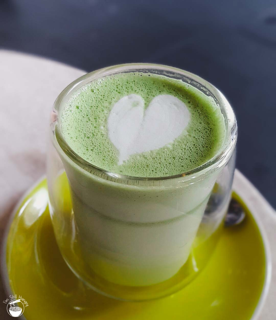 Cafe Cherry Beans Matcha Latte