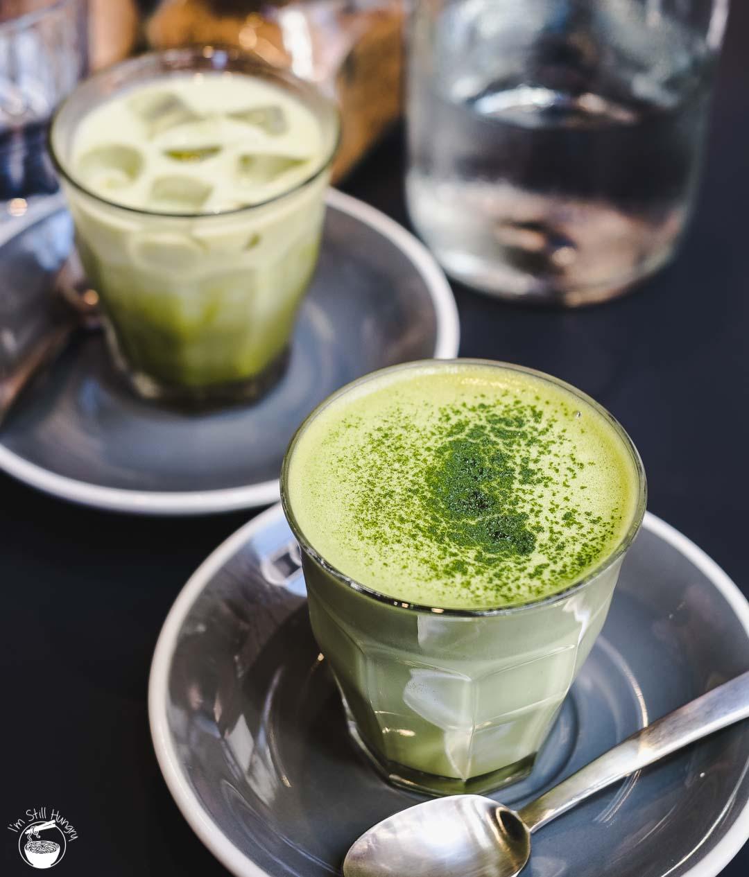 Devon Cafe Matcha Latte