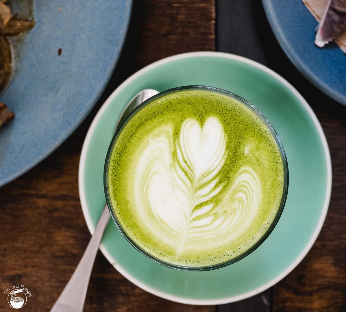 Cafe Kentaro Matcha Latte