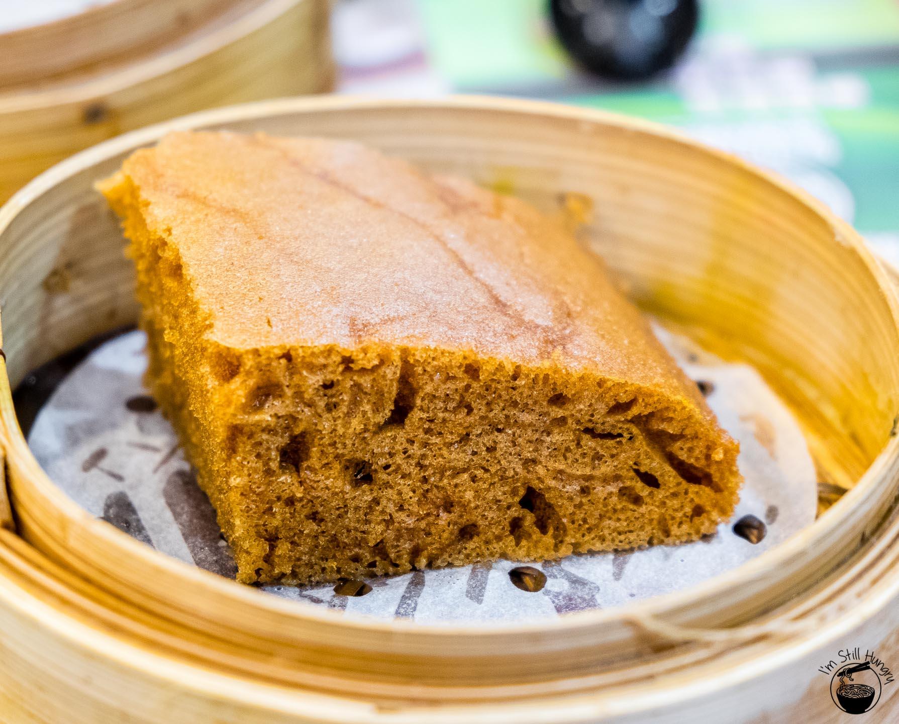 Tim Ho Wan Hong Kong Steamed egg cake