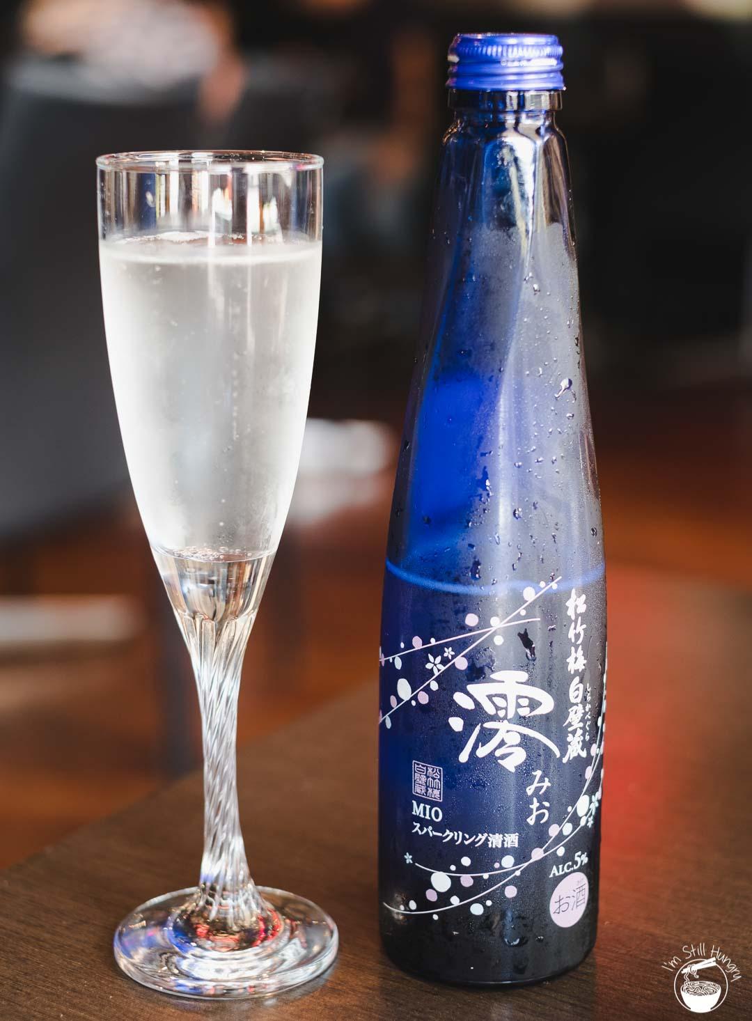 Toshiya Cremorne Mio Sparkling Sake