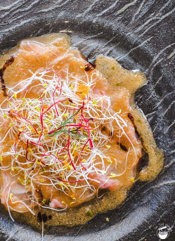 Toshiya Cremorne salmon carpaccio