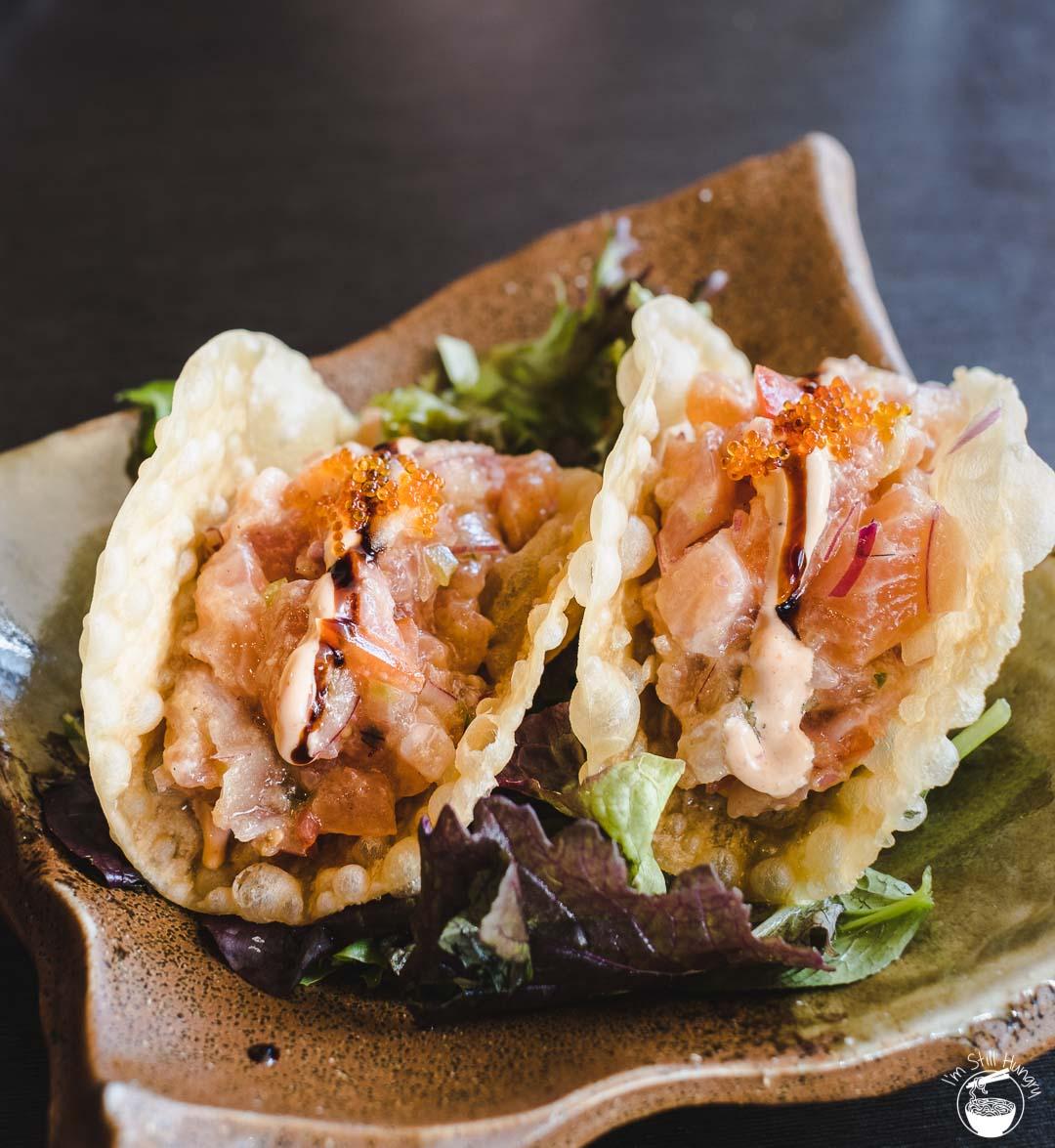 Toshiya Cremorne sashimi tacos