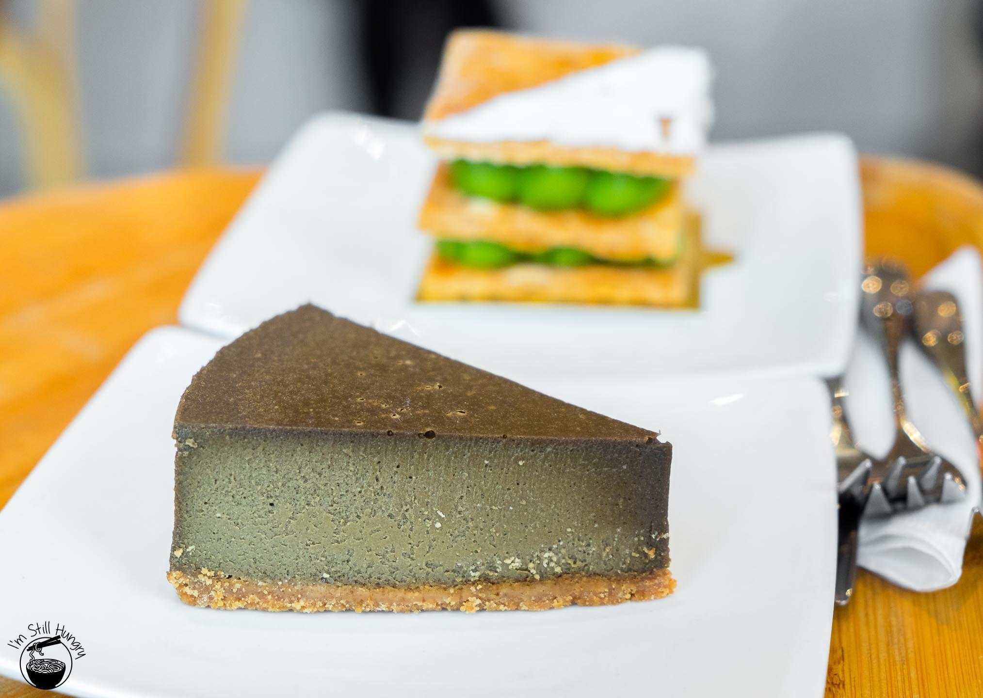 Via Tokyo Hong Kong Houjicha cheesecake (2015)