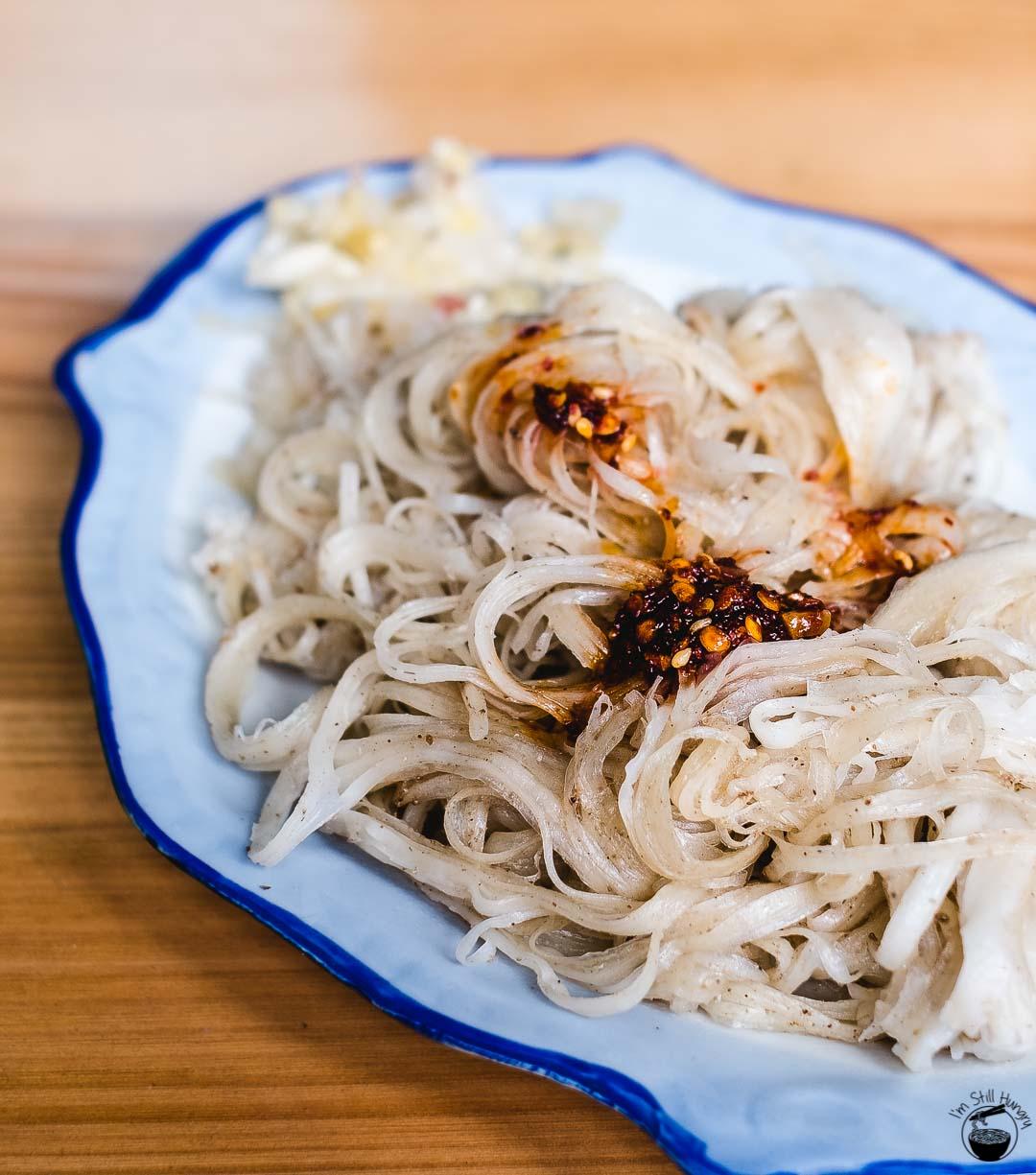 油塔塔 (you ta ta) Hui Min Jie Xi'an Muslim Street Food