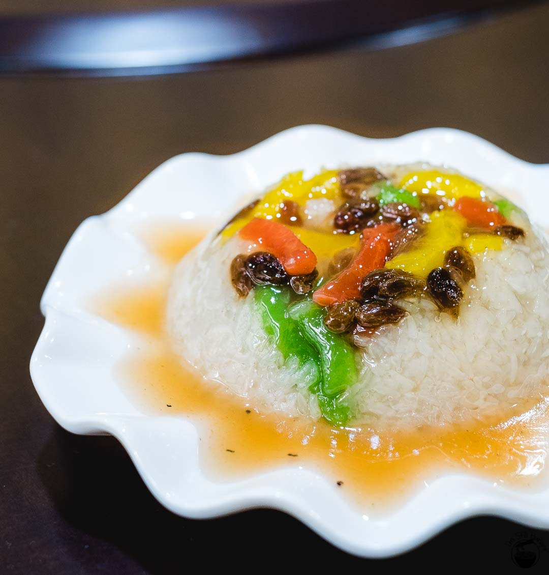 八宝甜饭 (ba bao tian fan) Hui Min Jie Xi'an Muslim Street Food