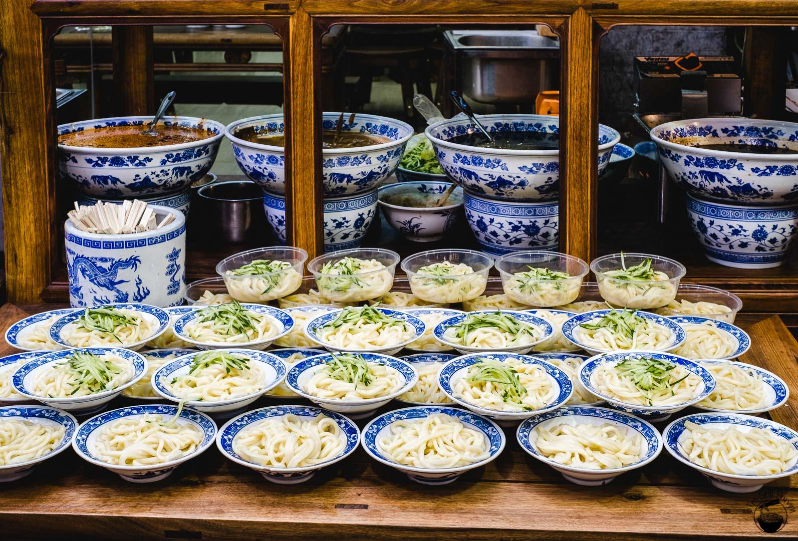 凉皮 (liang pi) Hui Min Jie Xi'an Muslim Street Food
