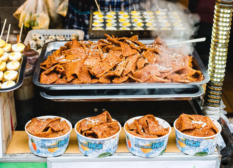 麻辣豆干 (ma la dou gan) Hui Min Jie Xi'an Muslim Street Food