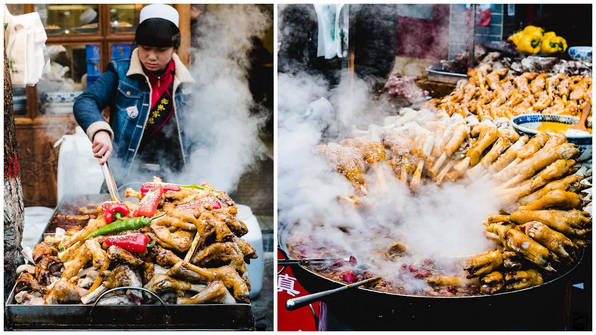 羊蹄子 (yang ti zi) Hui Min Jie Xi'an Muslim Street Food
