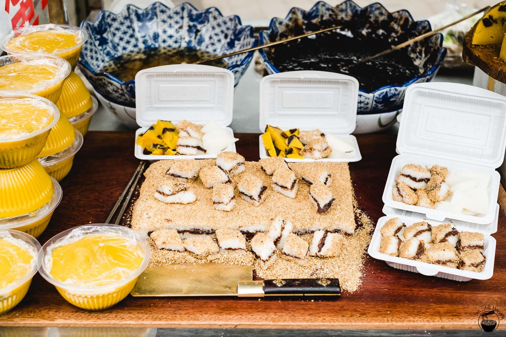 蜂蜜凉糕 (feng mi liang gao) Hui Min Jie Xi'an Muslim Street Food