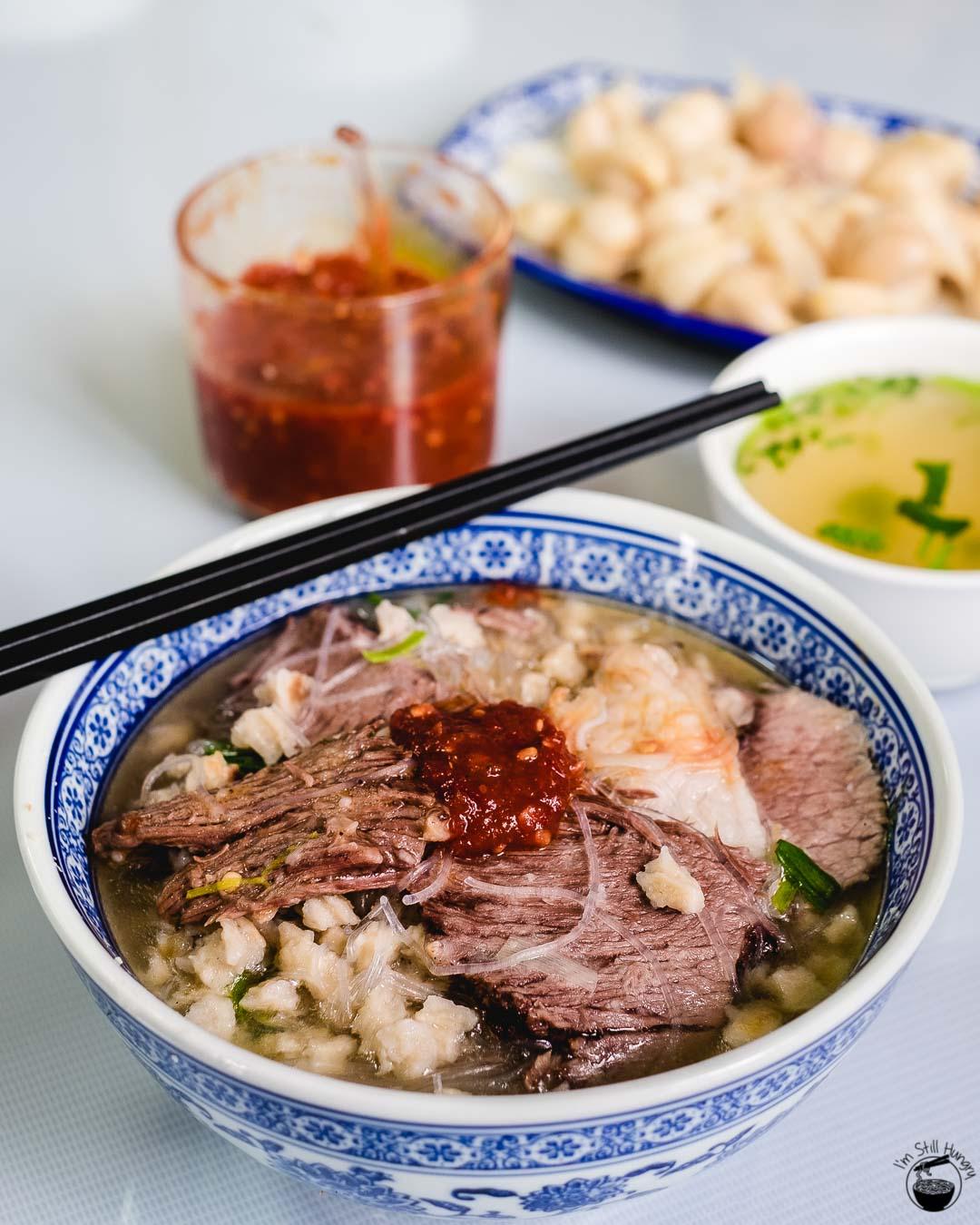 羊肉泡馍 (yang rou pao mo) Hui Min Jie Xi'an Muslim Street Food