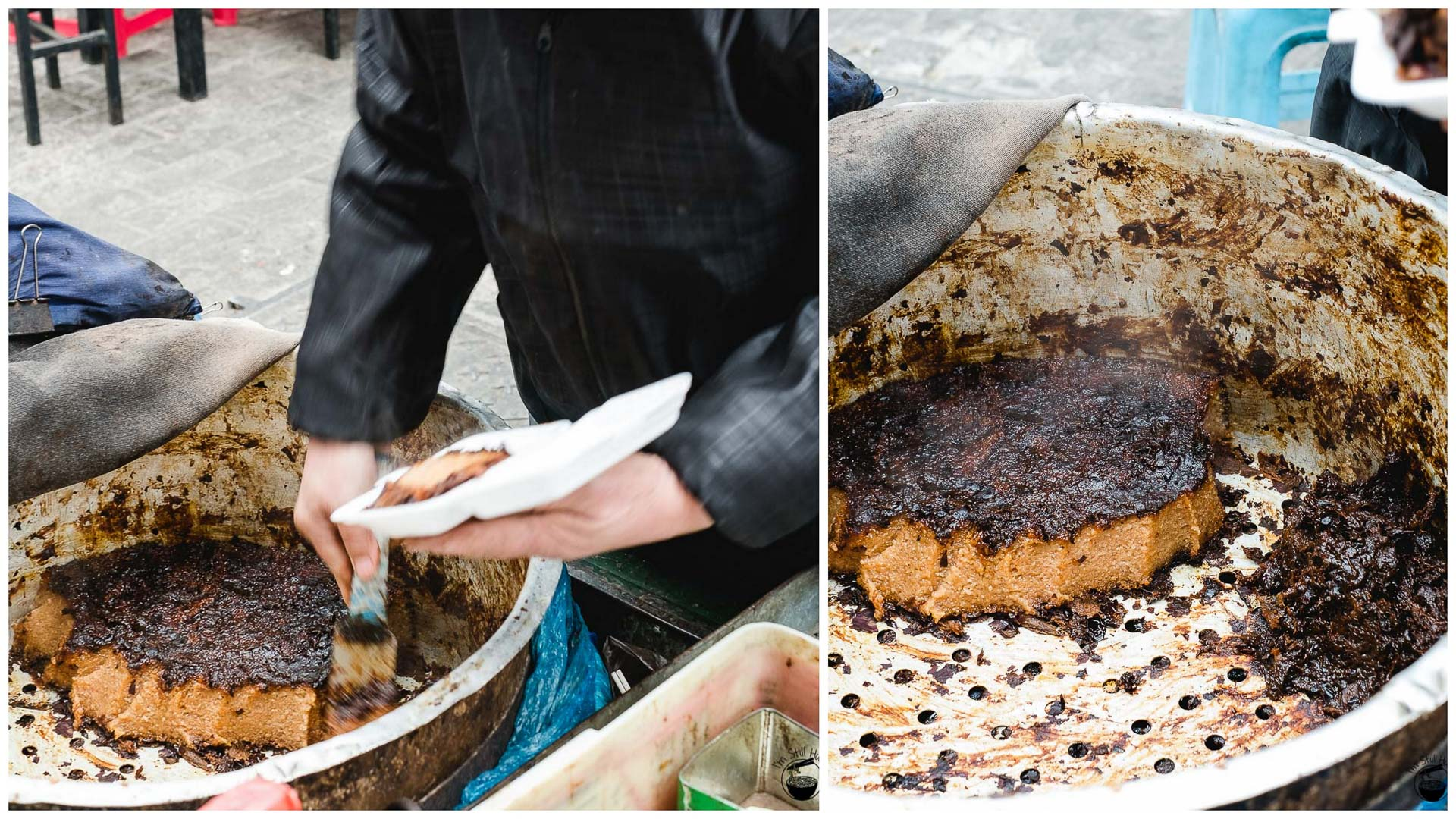 精糕 (jing gao) Hui Min Jie Xi'an Muslim Street Food