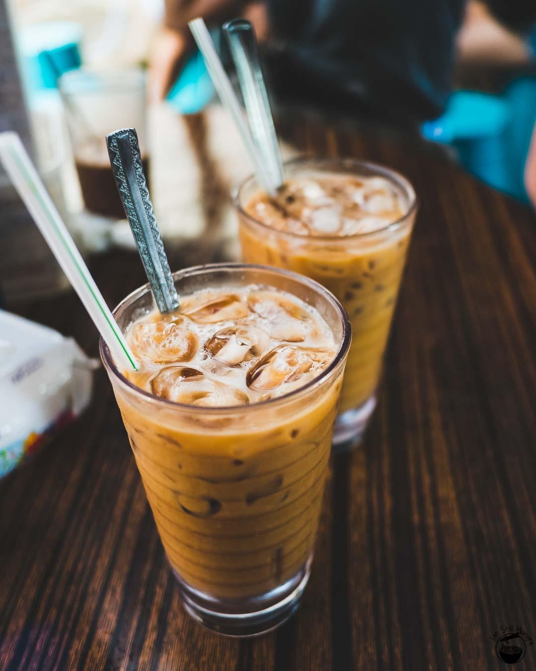 Yue Hing Hong Kong Yuan yang (HK milk tea + coffee hybrid drink)